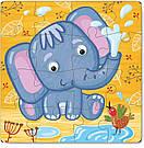 """Пазл """"Слоненя"""". Розвиваюча дитяча гра Dodo, фото 2"""