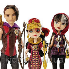Набор кукол Ever After High Сериз, Хантер, Лиззи (Cerise, Hunter, Lizzie) Турнир по триатлону