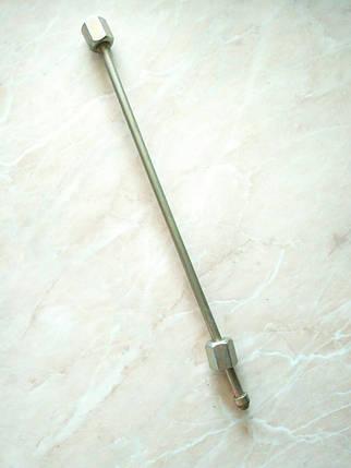 Топливная трубка. Длина 1000 мм. гайки М 12-14мм, фото 2
