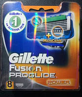 Сменные кассеты Gillette Fusion ProGlide Power - 8 шт (Оригинал)