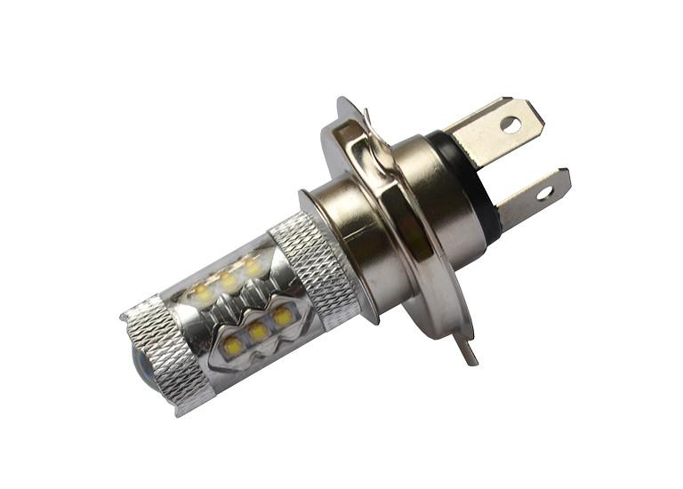 Светодиодная автолампа H4, 80W