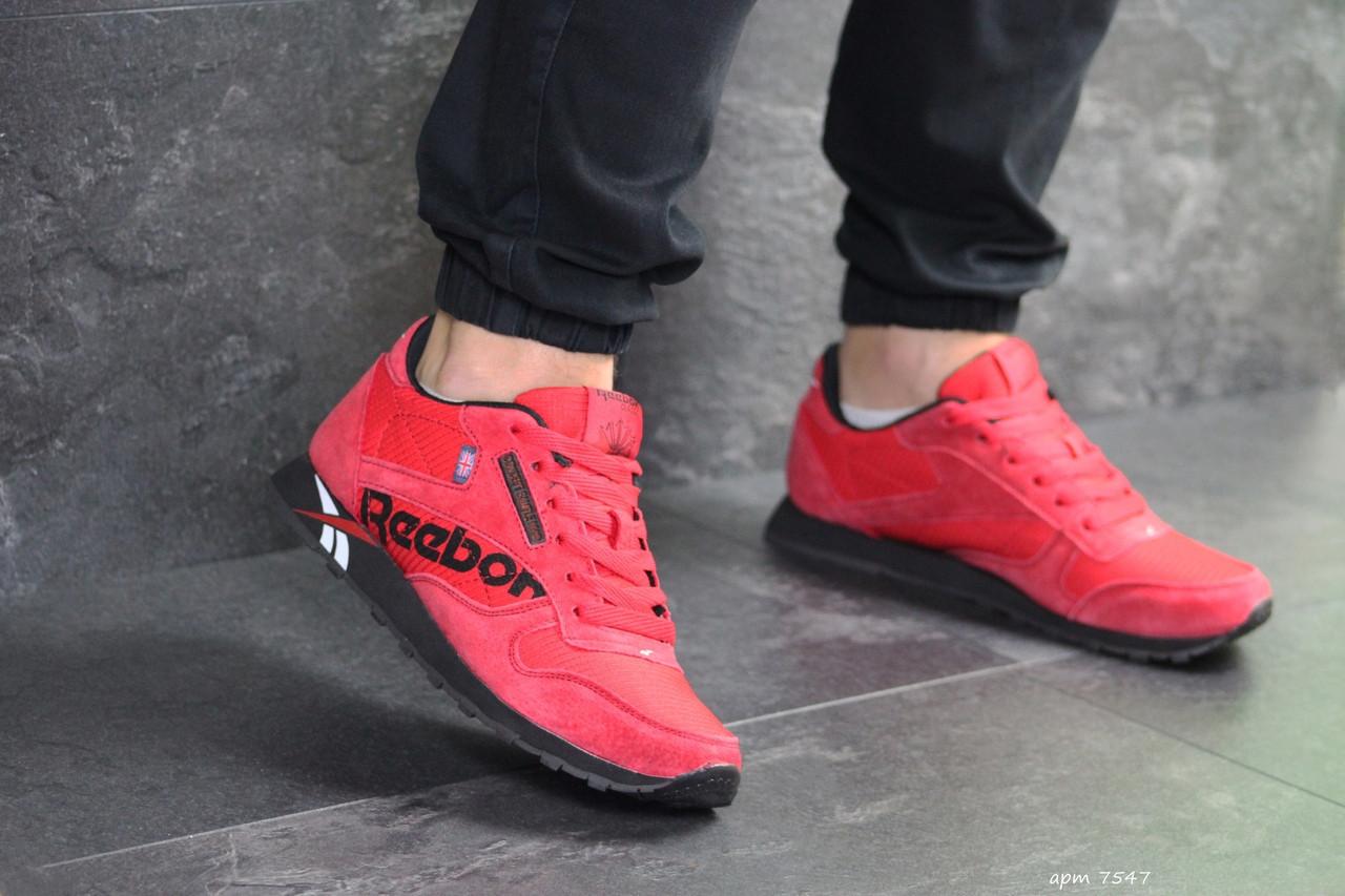 Мужские кроссовки Reebok (красные)