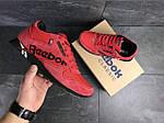 Мужские кроссовки Reebok (красные) , фото 3