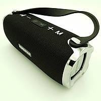 Беспроводная аккумуляторная колонка Bluetooth акустика FM MP3 AUX USB Hopestar H24 черный