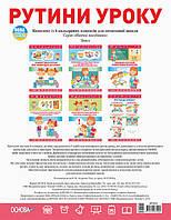 Комплект плакатів Рутини уроку