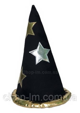 Шляпа колпак с золотистым ободком, фото 2