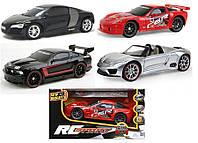 Радиоуправляемый автомобиль SPORT в ассортименте Audi, Corvette, Mustang, Porsche New Bright