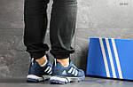 Мужские кроссовки Adidas Fast Marathon 2.0 (сине-белые) , фото 4