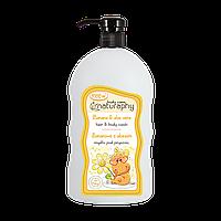Дитячий шампунь для волосся і тіла Blux Naturaphy 1000 мл (3802003)