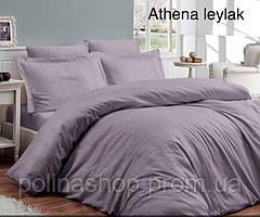 """Комплект постельного белья ALTINBASAK Сатин Deluxe """"Athena leylak"""" Полуторный"""