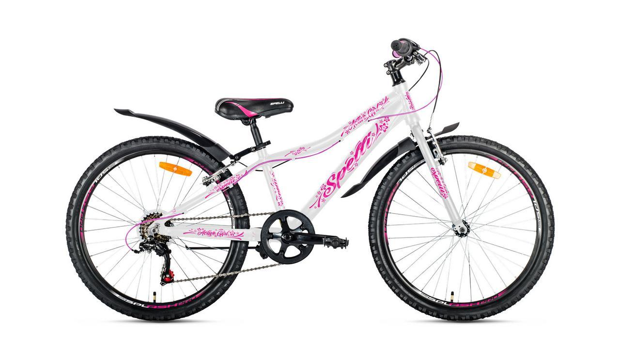 Велосипед 24 Spelli Active Girl alu