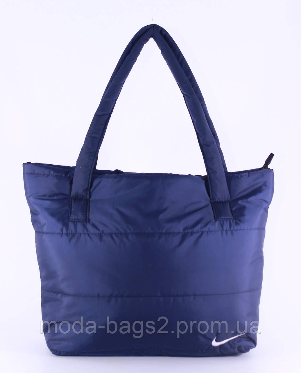 c0eab02a398a Стеганая сумка Nike реплика синяя - Женская Одежда и Аксессуары в Харькове