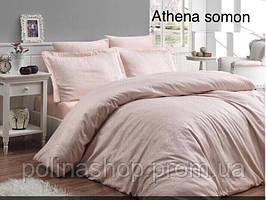 """Комплект постельного белья ALTINBASAK Сатин Deluxe """"Athena somon"""" Полуторный"""