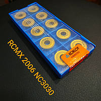 RCMX 2006 MO NC3030 KORLOY Пластина твердосплавная чашечная