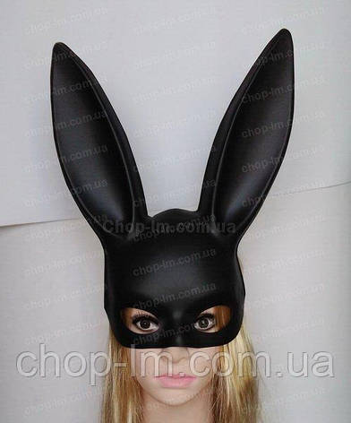 "Маска Зайки (маска ""Playboy"") матовая, фото 2"