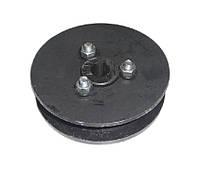 Шкив 236-1307212 Б3 привода водяного насоса в сборе двигателя ЯМЗ 236,ЯМЗ 238