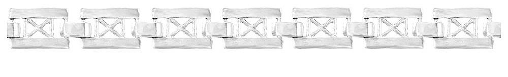 Браслет серебряный Crosses 500590