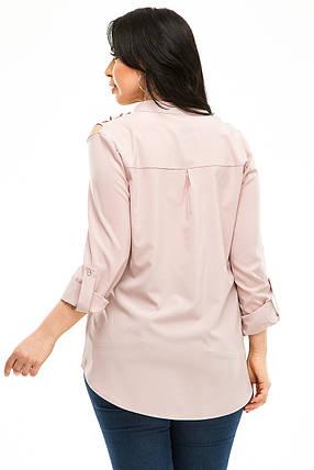 Блузка 5292 пудра, фото 2