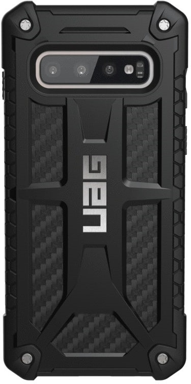 Чехол защитный UAG Monarch Samsung Galaxy S10 carbon fiber (211341114242) EAN/UPC: 812451031317