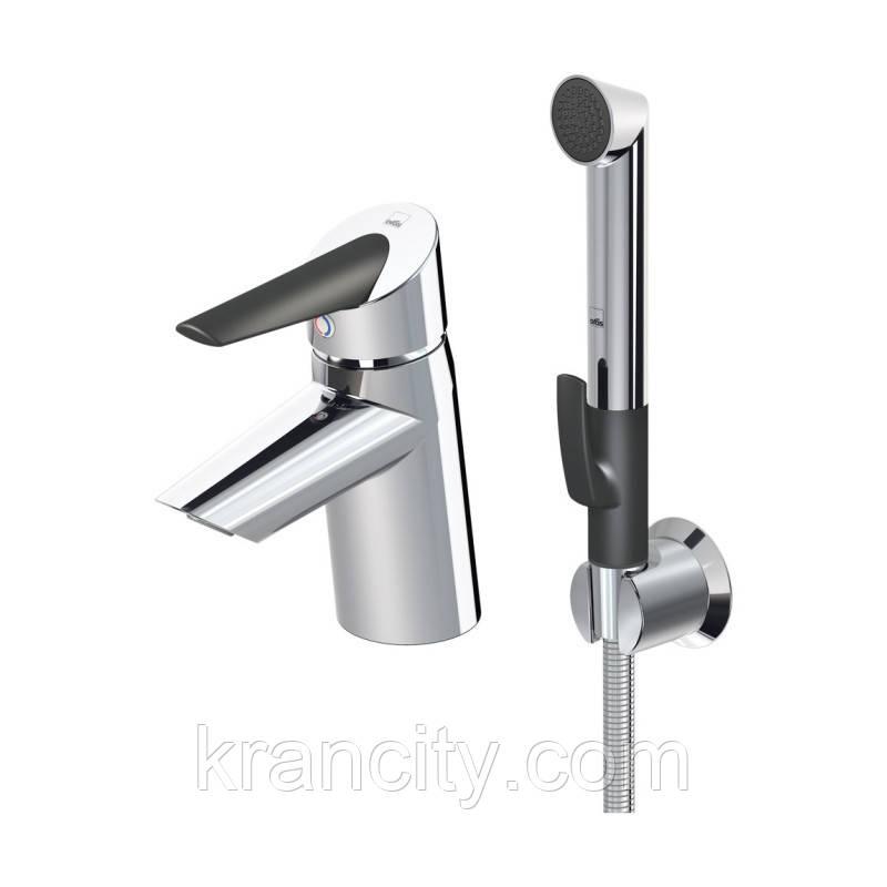 Смеситель для умывальника с гигиеническим душем Oras Optima 2712F