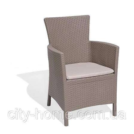 Комплект плетеной мебели Rosario Balcony, капучино, фото 2