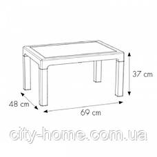 Комплект мебели из искусственного ротанга  Alabama 3 коричневый, фото 2