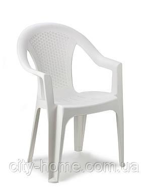 Комплект пластиковой мебели King Ischia 4 белый, фото 2