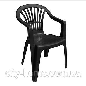 Комплект пластиковой мебели Tondo 4 антрацит, фото 2