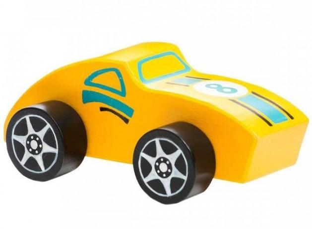 Машинка Тера-Спорт LM-4. Дерев'яна розвіваюча іграшка Cubika