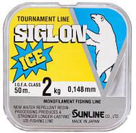 Леска поводочная Sunline Siglon Ice (0.165 mm)