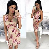 Платье / костюмная ткань / Украина 24-1235, фото 1