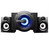 Акустика 2.1 FL-C2 40W (USB/Bluetooth/FM-радио/Mp3)