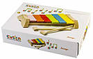 Ксилофон LKS-1. Дерев'яна розвіваюча іграшка Cubika, фото 3