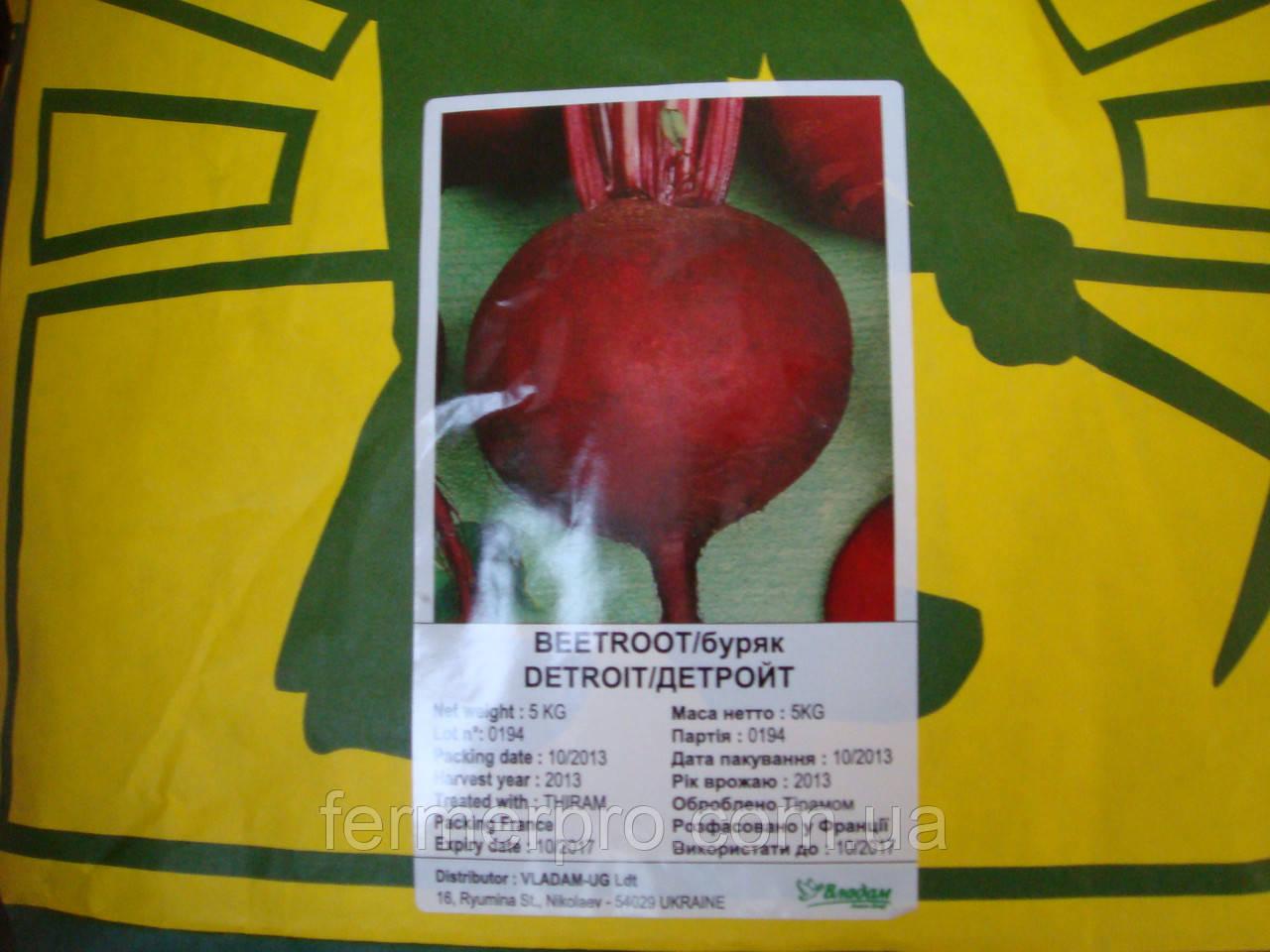 Семена свеклы Детройт 5 кг  Hortus (Италия)