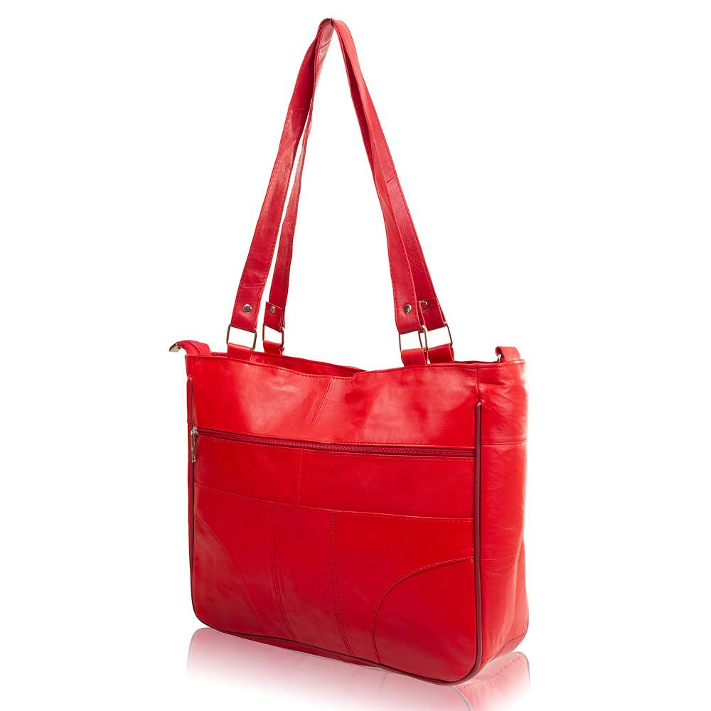 73842b65ee48 Женская кожаная сумка TUNONA Красная (SK2414-1), цена 1 078,56 грн ...