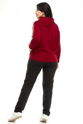 Спортивный костюм 5701 бордо, фото 2