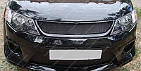 Решетка радиатора Mitsubishi Outlander XL (тюнинг решетка Митсубиси Аутлендер ХЛ)