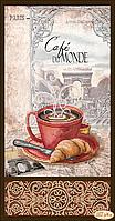 """""""Кофе в Париже 1"""" - схема для вышивки бисером"""