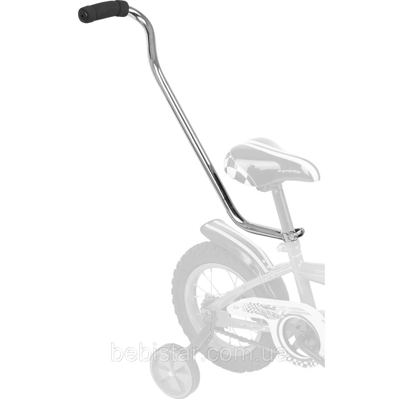 Родительская ручка, толкатель для детского двухколесного велосипеда длина 600мм