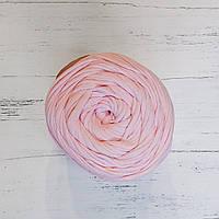 Трикотажная бобинная пряжа нежно розовый