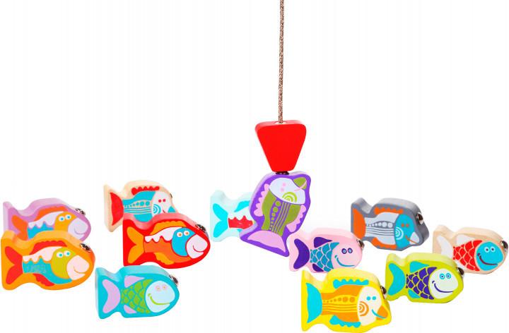 """Деревяна іграшка """"Рибалка"""" від Cubika"""