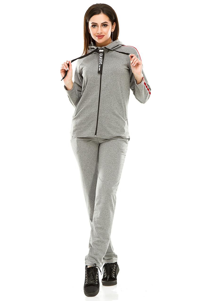 Спортивный костюм 5701 темно-серый