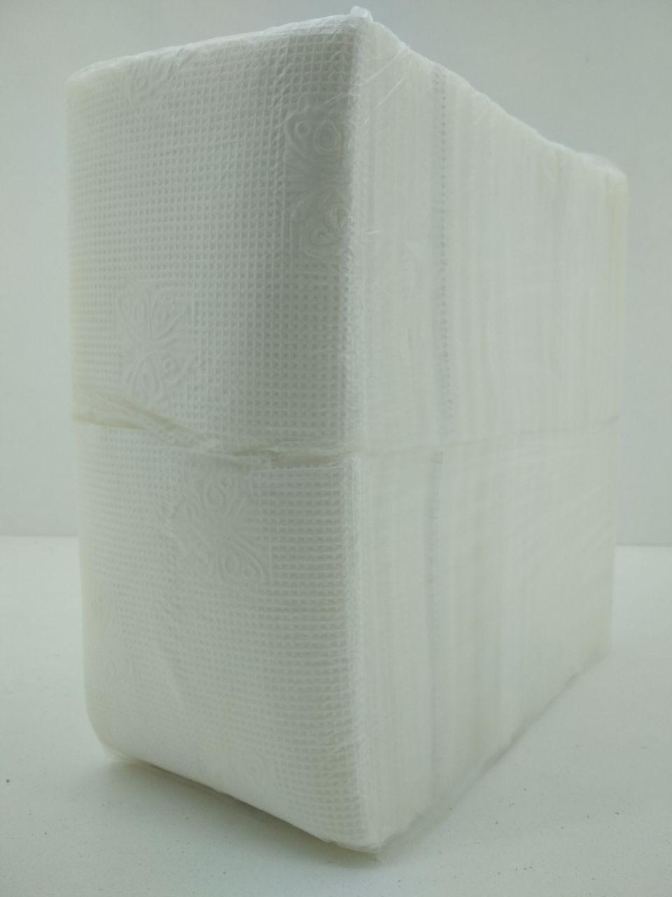 Салфетка 280 лист Фуршет (бабочка) однотонная