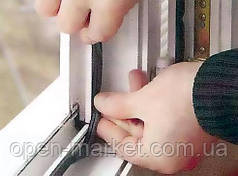 Замена уплотнительной резины на окнах и дверях, Николаев