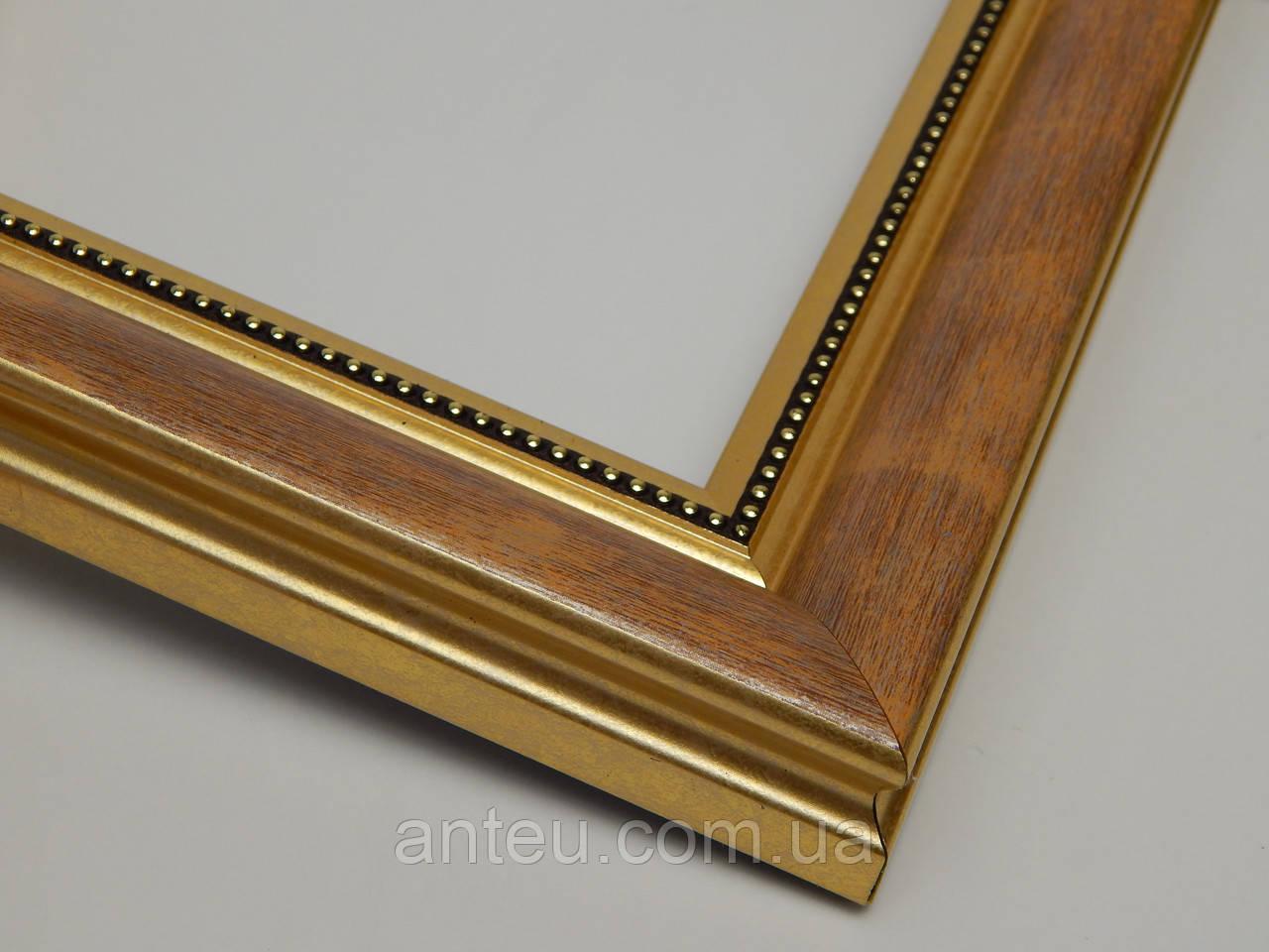 Рамка А2(420х594).Для картин,плакатов,фото...30 мм.Античное золото