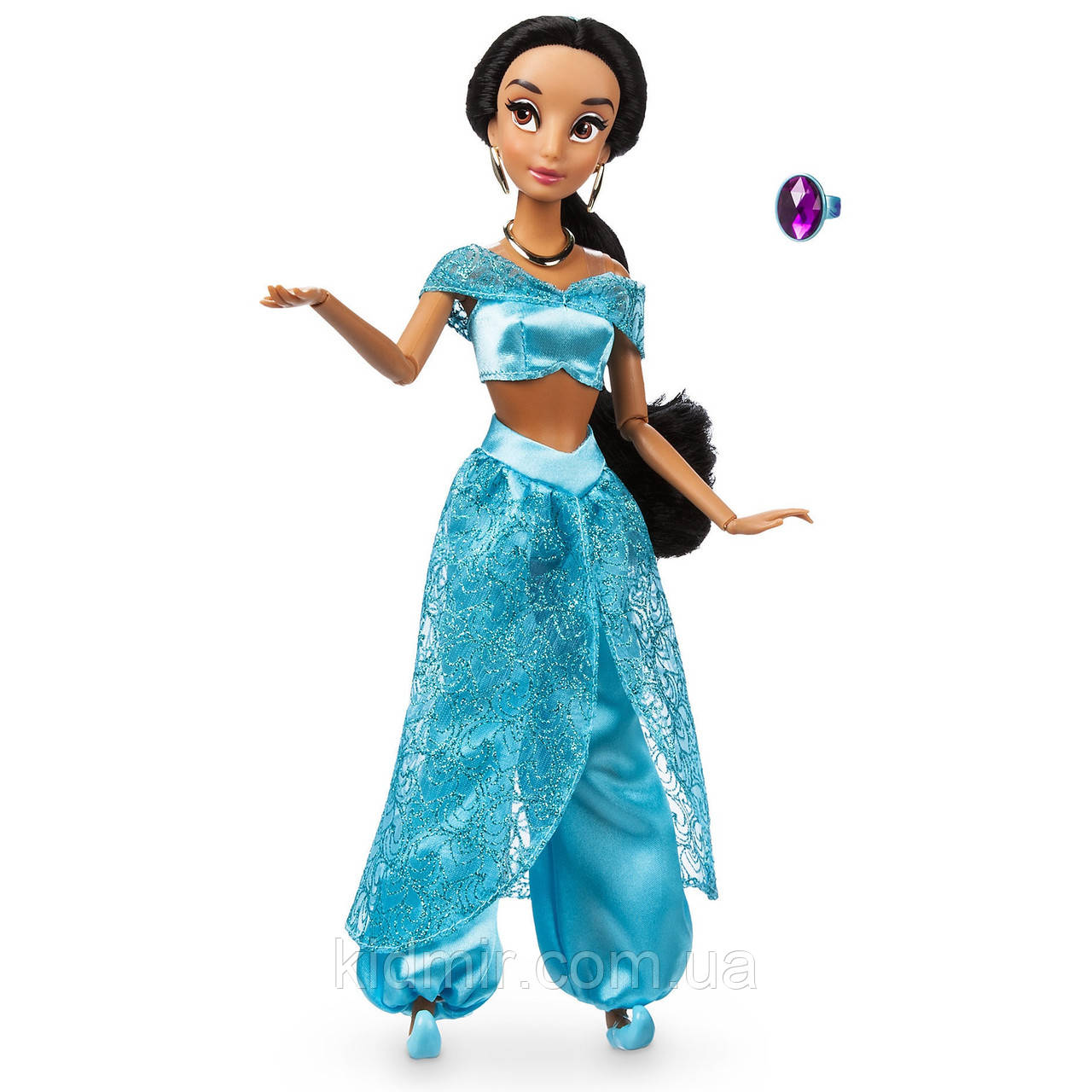 Купить Принцесса Дисней Кукла Жасмин c кольцом Jasmine ...