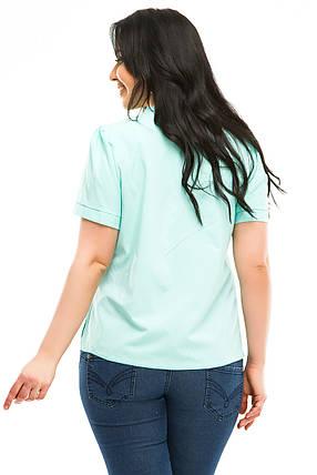 Блузка 5483 мята, фото 2