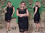 Красивое нарядное вечернее платье новинка 2019 размер 50-56, фото 3
