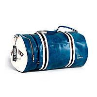 Спортивная сумка модель 9-4 (Сине/Белая)