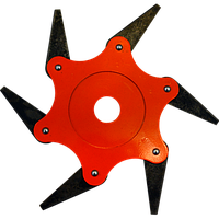 Нож для мотокосы сегментный 6 лезвий